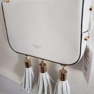 LUANA italy bag, Medea Mini Crossbody bag, Bianco